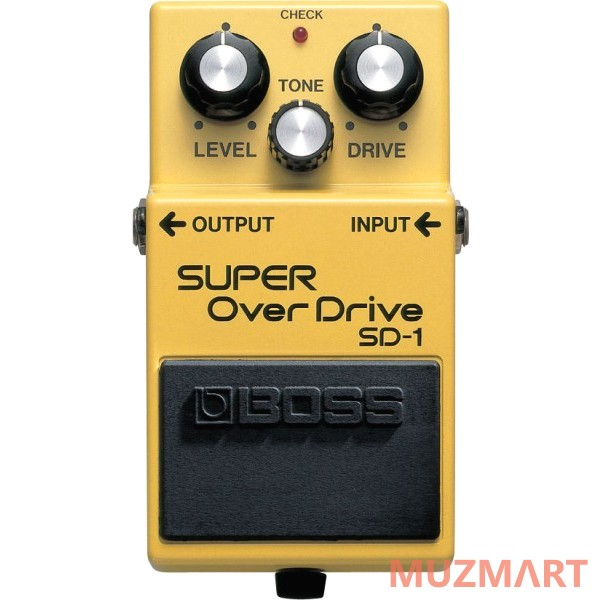 Педаль для электрогитары Boss SD-1 Super Overdrive