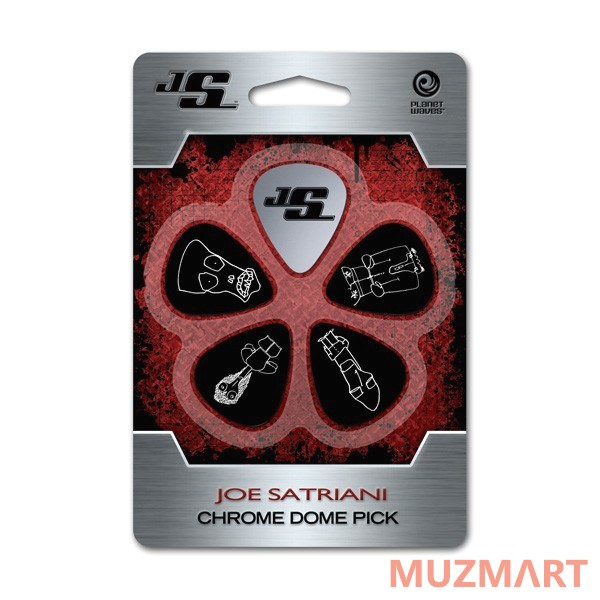 Набор медиаторов Planet Waves JSCD-01 Joe Satriani