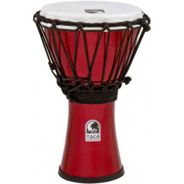 "Toca TFCDJ-7MR Freestyle Metallic Red 12 1/2"" х 7"" Джембе"