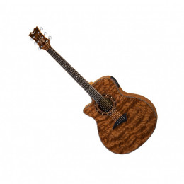 Dean Exotica A/E Bubinga Wood Lefty электроакустическая гитара.