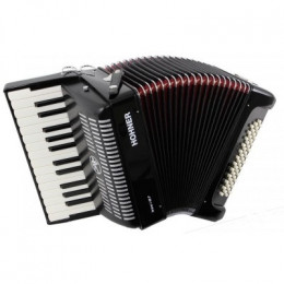 Hohner The New Bravo I 49 F black (A40461) аккордеон 1/2