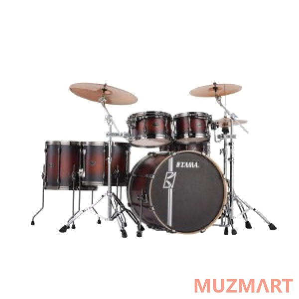 Ударная установка из 5 барабанов Tama ML52HXZBNS-SCY SUPERSTAR HYPER-DRIVE MAPLE CUSTOM SATIN CHERRY BURST