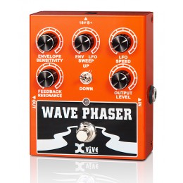 Xvive W1 Wave Phaser Педаль фазер для электро и бас-гитар