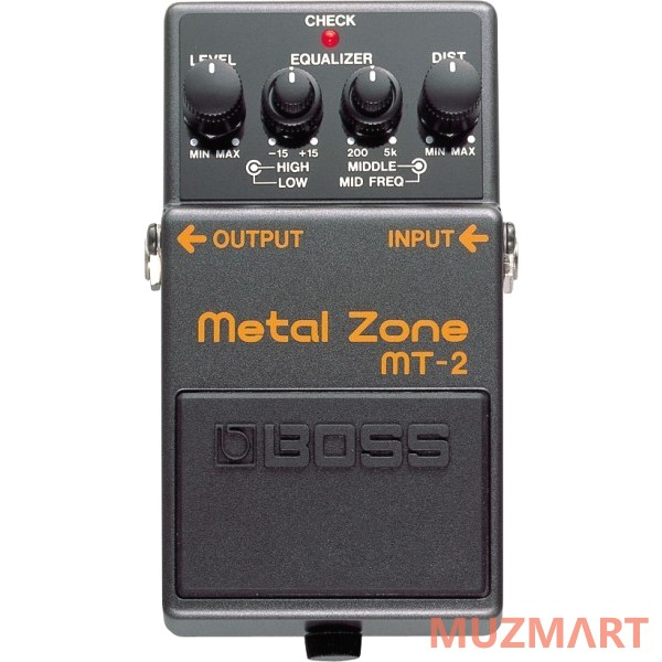 Педаль для электрогитары Boss MT-2 Metal Zone