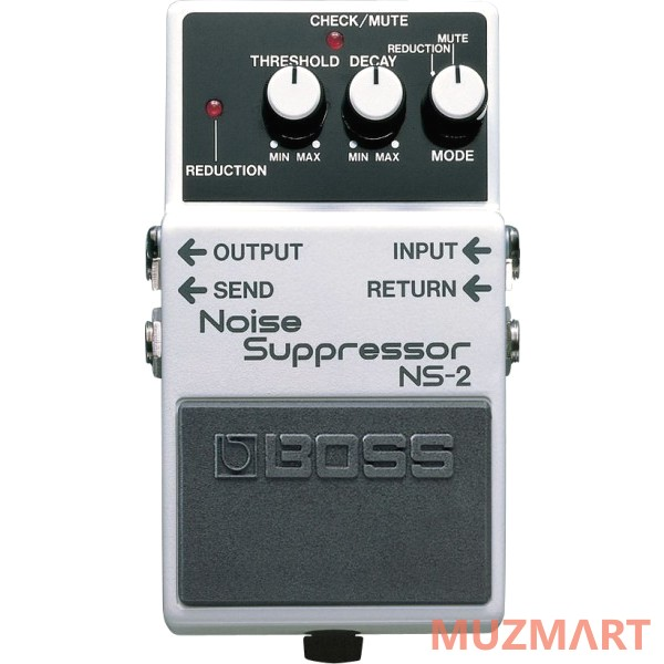 Педаль для электро и бас гитары шумоподавитель Boss NS-2 Noise Suppressor