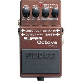 Boss OC-3 Super Octave Педаль для электрогитар и бас гитар Octave