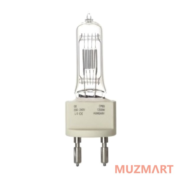 Лампа галогеновая G.E. Lighting 240V/1200W G-22 CP-93 88508