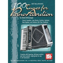 MusicSales David Digiuseppe: 100 Tunes for Piano Accordion