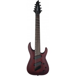 Jackson X Series Dinky Arch Top DKAF8 MS, Dark Rosewood, Stained электрогитара