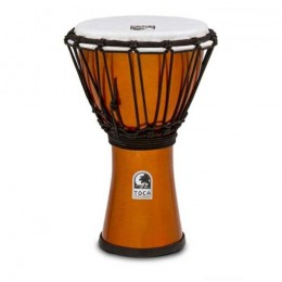 "Toca TFCDJ-7MO Freestyle Colorsound Djembe X-Small Metallic Orange Джембе 12 1/2"" х 7"""